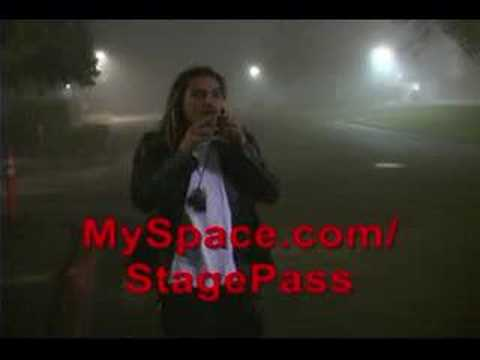Munky (James Shaffer) from Korn back stage at Arco Arena
