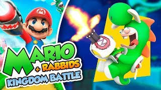 ¡La Locura de Rabbid Yoshi! - #14 - Mario + Rabbids Kingdom Battle en Español (Switch) DSimphony