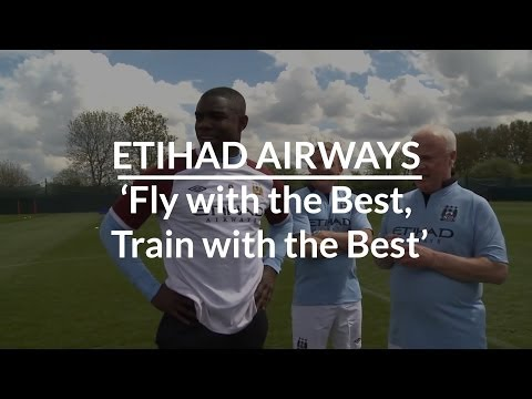 Etihad 'Fly with the Best, Train with the Best' by Professional Sports Group
