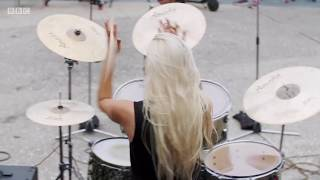 Guitar Drum and Bass S01E01 On Drums Stewart Copeland