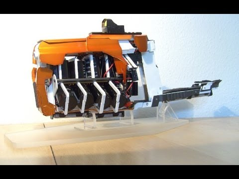 4 stage Gauss Rifle (coolest homemade Coilgun so far?)