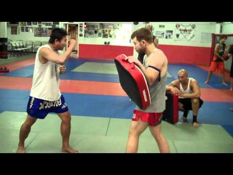 Dragon Leg Muay Thai Drills VID00008short-jabkneekick.MP4 Image 1