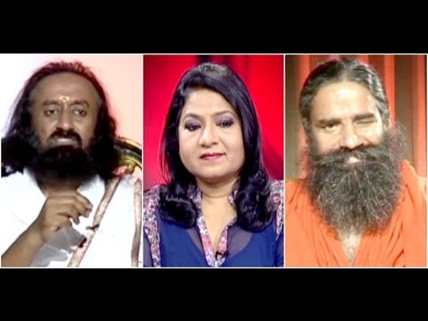 Aamne-Samne with Sri Sri Ravi Shankar and Baba Ramdev