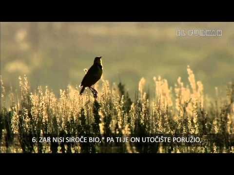 Lijek Za Depresiju ! Sura Ad-duha (jutro) Bosanski Prevod video