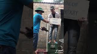 Tik tok VN -Hài cừi bể bụng với anh chàng thợ xây
