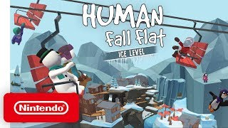 "Human: Fall Flat ""Ice"" DLC - Launch Trailer - Nintendo Switch"