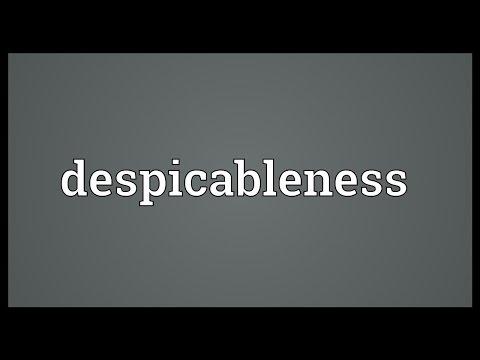 Header of despicableness