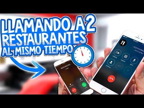 BROMA LLAMANDO A 2 RESTAURANTES AL MISMO TIEMPO - ÉPICA BROMA TELEFÓNICA