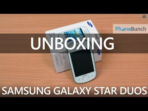 Samsung Galaxy Star Duos (GT-S5282) Unboxing