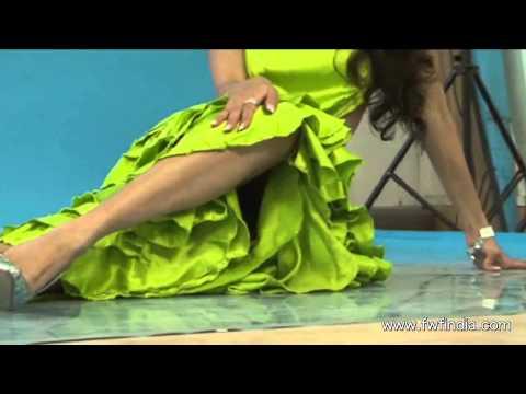 Actress Pooja Sharma & Priyanka Hot & Bold Glamorous Photoshoot Video ! video