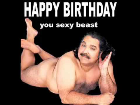 Happy Birthday sexy beast!