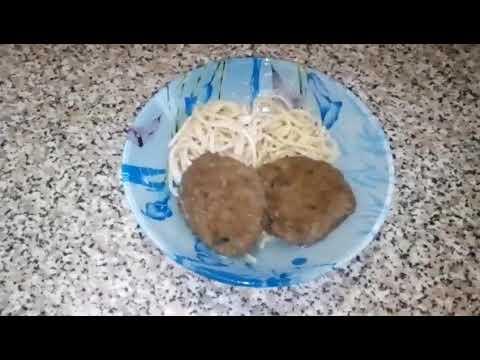 Мясо-грибные зразы