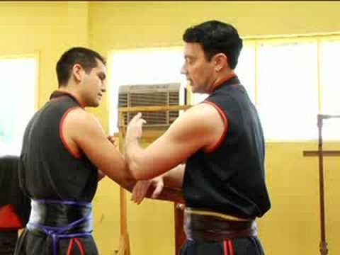 Beginning Wing Tsun Techniques : Wing Tsun Chain Punch Image 1