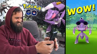 GENESECT CAUGHT! (Can You Complete This From Home? Was It Worth It?) - Pokemon Go Mythical Quest