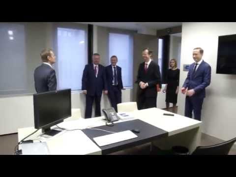 Donald Tusk's first week in office