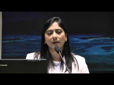 Shamima at CII Mauririus Investment Meet