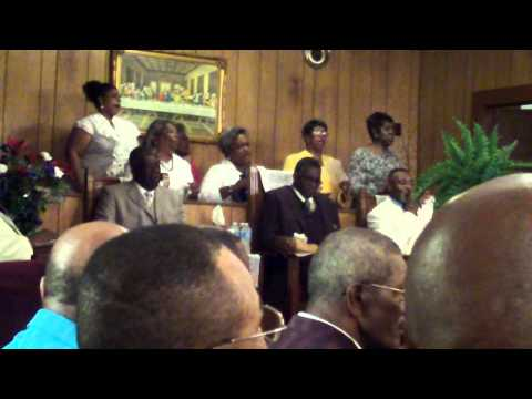 "Mt Carmel FWB Church Choir Quitman,Ga  ""Come On In The Room"""