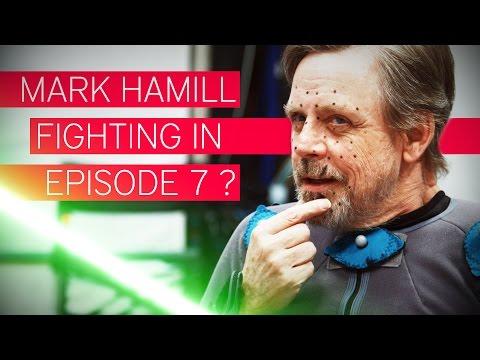 Is Luke Skywalker fighting in Episode 7? | Mark Hamill Interview [3/3]