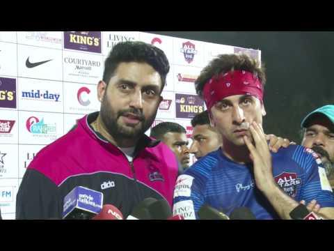 Charity Football Match 2016 Between Indian Cricketers & Bollywood Stars HD   Kohli, Dhoni, Ranbir