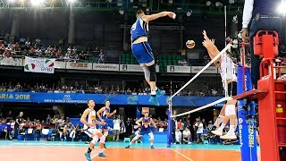 Ivan Zaytsev The King Of Volleyball In The World    Mens World Championship 2018