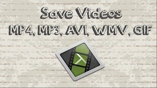 Download How to save Camtasia videos as mp4, mp3, AVI, WMV, GIF 3Gp Mp4
