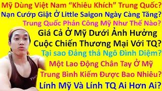 """Mỹ Dùng Việt Nam """"Khiêu Khích"""" Trung Quốc? Vấn Nạn Cướp Giật Ở Little Saigon Ngày Càng Tăng?"""
