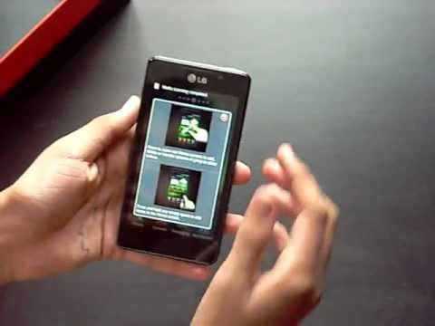 LG Optimus 3D MAX P725 Unboxing and Hands On