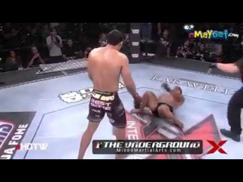 FOOT KICK DIRECTLY IN A CHIN KNOCK OUT KICK BOXING