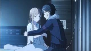 "Sword Art Online - ""Asuna Reunion With Kirito"" Asuna Moments eps 25 [Indo Sub]"
