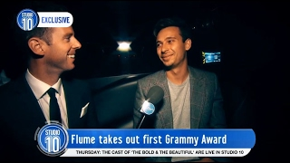 Flume Wins His First Grammy! | Studio 10