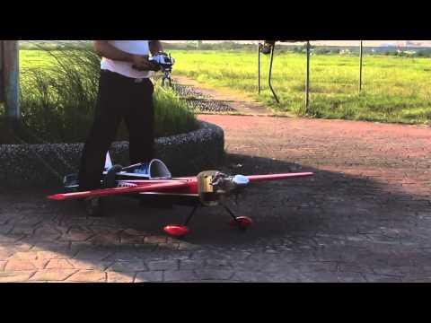 RCGF 40cc twin test 2