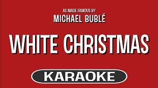 White Christmas Karaoke Version Michael Buble Feat Shania Twain Tracksplanet