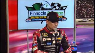 Jimmie Johnson   Jeff Gordon  Post Qualifying Interview for AAA Texas 500 at Texas Motor Speedway