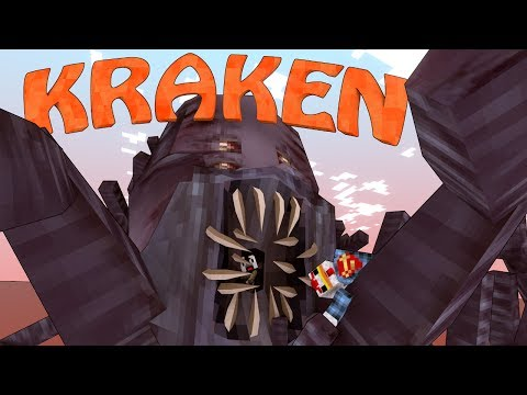 Minecraft | WORM KRAKEN BOSS Mod Showcase! (ORESPAWN MOD, KRAKEN MOD)
