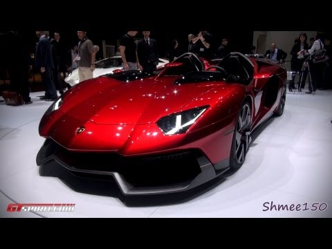 Lamborghini Aventador J - Geneva 2012 with GTspirit.com