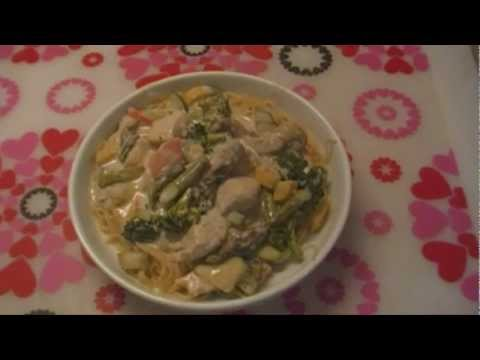 Recipe for Creamy Chicken Pasta Primavera: Noreen&#8217;s Kitchen