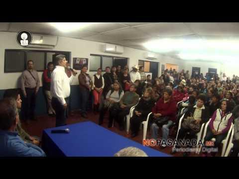 Pide César el voto en el CDM de Navojoa