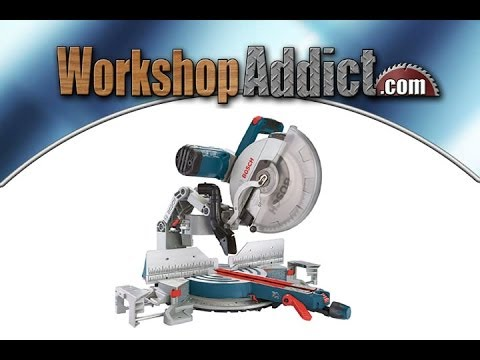 Bosch 12 inch Axial Glide Miter Saw GCM12SD Review