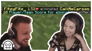 Fitz Carries Pokimane In Minecraft Monday Week 13
