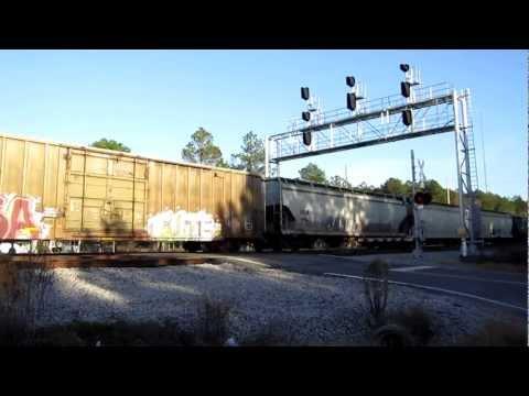 Hd csx railfanning waycross ga friday december 7 2012