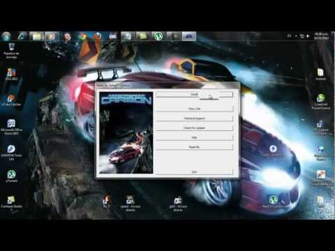 Games. addictiontogaming. Como descargar he instalar Need For Speed Carbon