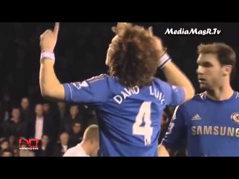 david luiz awsome goal vs fulham