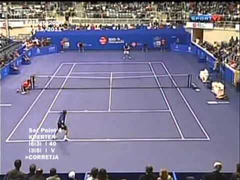 Guga Kuerten vs Alex Corretja - Rio Champions 2011 - Highlights