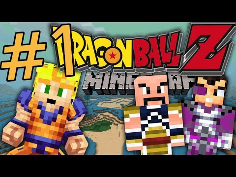 DRAGON BLOCK C [01] VEGETA Y NAPPA - DRAGON BALL Z EN MINECRAFT SERIE SURVIVAL - Raypiew