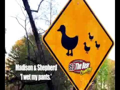 Madison and Shepherd:  I Wet My Pants