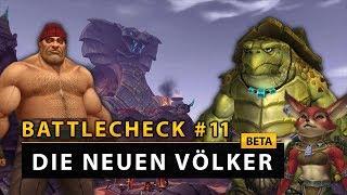 WoW Battlecheck - Beta: Ein Blick auf die neuen Völker | Battle for Azeroth