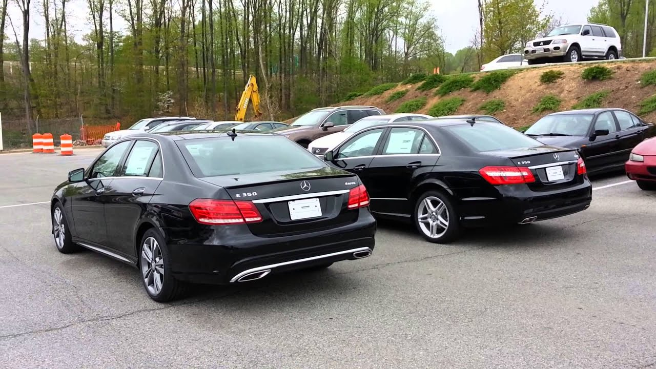 2014 Mercedes Benz E350 Vs 2013 Youtube