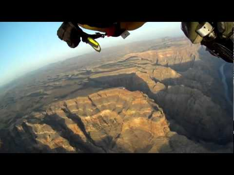 Jetman Flight at Grand Canyon West   YouTube