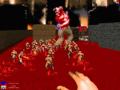 DOOM - Inferno Lord Vs Cyberdemon Army