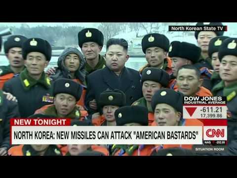 North Korea: We can hit 'America bastards'